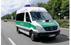 Mercedes Benz Sprinter, Polizei, Unfallaufnahme