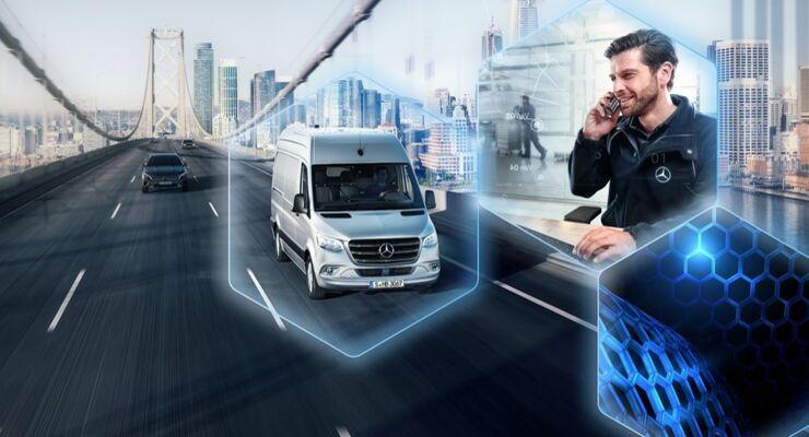 Mercedes-Benz Vans erweitert sein digitales Service-Portfolio: Echtzeitdiagnose Mercedes-Benz Van Uptime startet in Deutschland  null