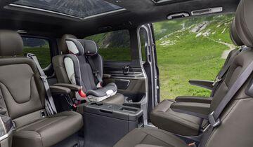 Mercedes V-Klasse 2019, Sitze, hinten