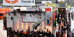 Messe Logimat in Stuttgart