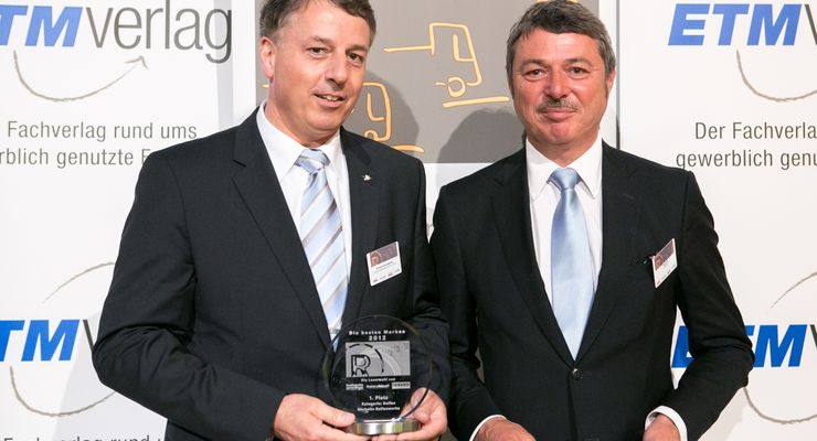 Michelin Beste Nutzfahrzeuge 2012