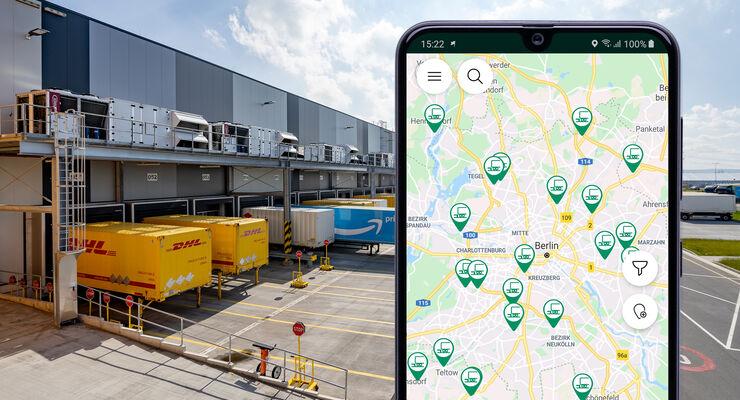 Mit den Daten aus RampenGuide bewerten Fahrer in der Truck Stops App bereits heute Rampen.