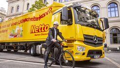 Netto stattet alle Lkw mit Sicherheitssystem aus