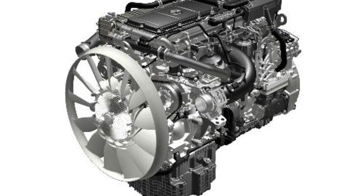 Neue Schwerlast-Motoren von Daimler