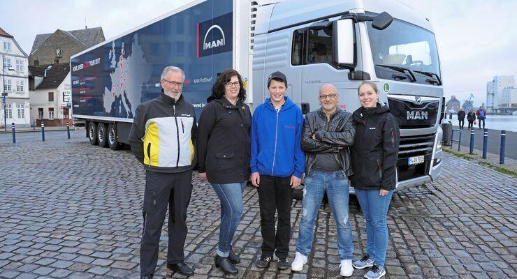 Neuer MAN TGX, MAN Trucklife-Aktion Hamburg 2017, FF 3/2018.