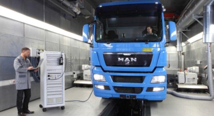 Neues MAN- Entwicklungszentrum in Nürnberg