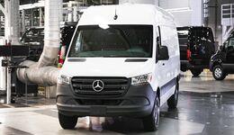 Neues Mercedes Sprinter Werk