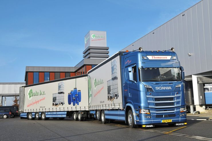 Niederländ. Lang-Lkw in Deutschland, Eurocombi, Zulassung. FF 6/2018. Mit dem EuroCombi nach Deutschland – ist inzwischen erlaubt und mittlerweile fahren die ersten niederländischen Langfahrzeuge auch bei unseren Nachbarn im Osten