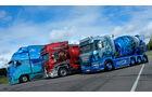 Nordic Trophy Schweden, Volvo, Gunfighter, Scania-Betonmischer, Sieger