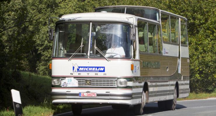 Oldiebusse im Technik Museum