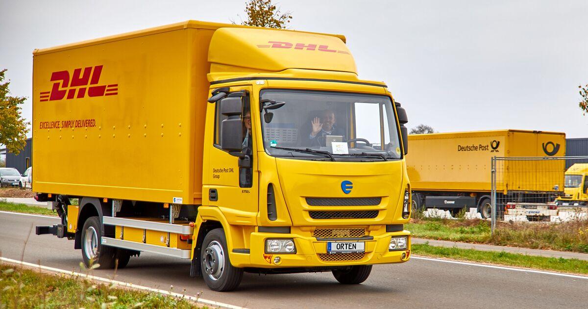 orten trucks f r dhl elektro lkw im einsatz eurotransport. Black Bedroom Furniture Sets. Home Design Ideas