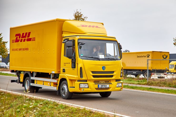 Orten Electric Trucks Deutsche Post DHL Elektro-Lkw