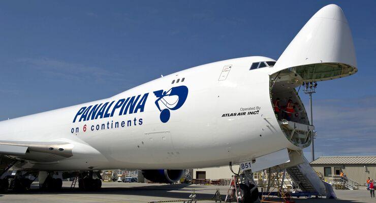 Panalpina Boing 747