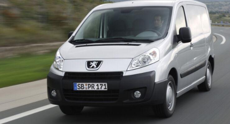 Peugeot Expert: Partikelfilter in Serie