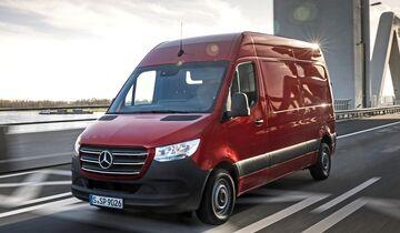 Pressefahrvorstellung Mercedes-Benz Sprinter, Amsterdam 2018  Press test drive Mercedes-Benz Sprinter, Amsterdam 2018