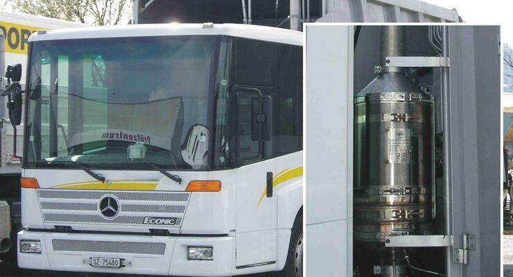 Puritech liefert Rußfilter für Daimler