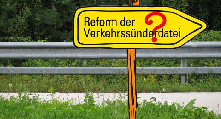Reform der Verkehrssünderdatei, Fragezeichen