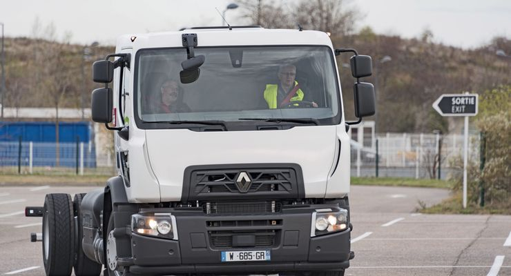 Renault Trucks CNG Alternative Antriebe