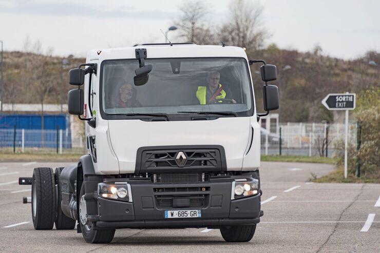 Renault Trucks CNG Alternative Antriebe