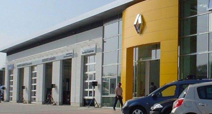 Renault meldet Umsatzeinbußen