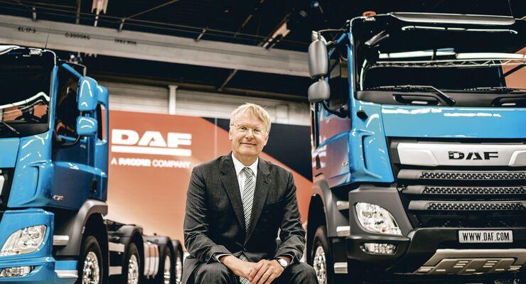 Richard Zink, Vorstansmitglied bei DAF Trucks
