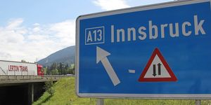 Richtung Brenner in Tirol