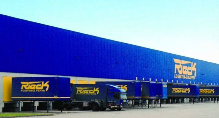 Rieck, logistikzentrum