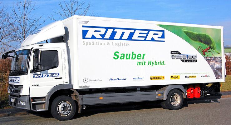 Ritter Sauber mit Hybrid