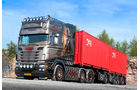 Scania 730 Longline, D-Tec, Containerchassis