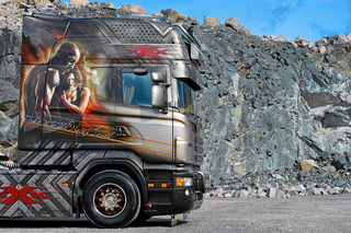 Scania 730 Longline: Ein xXx-Tremer Supertruck - Eurotransport