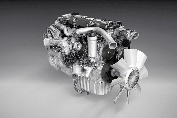 Scania-Fünfzylindermotoren