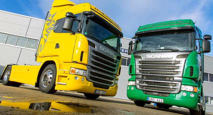 Scania G 440 und R 560 Highline