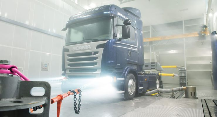 Scania, Klimawindkanal, Södertälje