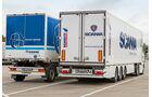 Scania R440 4x2/6x2, Vergleich, Aufbauhöhen