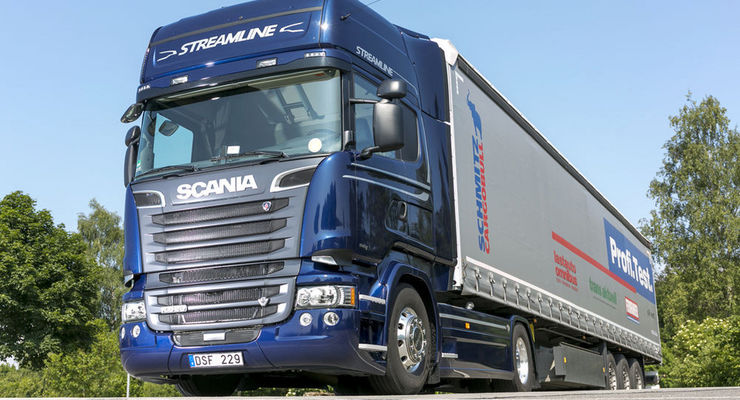 scania r 520 la im test der bescheidene k nig eurotransport. Black Bedroom Furniture Sets. Home Design Ideas