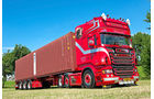 """Scania Weeda """"Sons Of Anarchy"""", Seecontainer, Scania, Supertruck"""