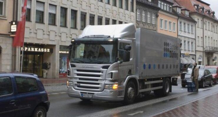 Scania bietet Partikelfilter an