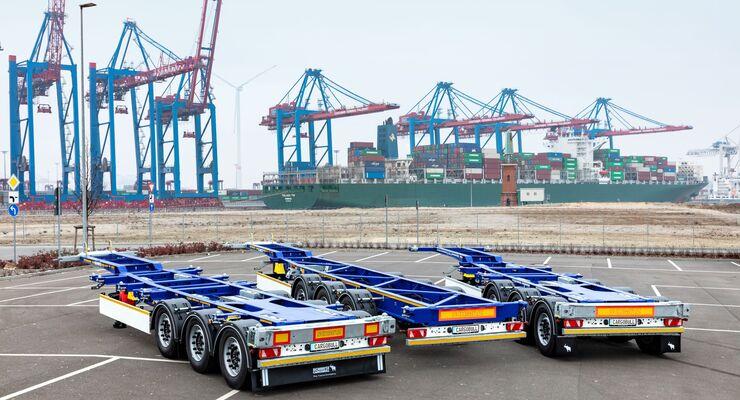 Schmitz Cargobull S.CF Container-Chassis, Produktrange
