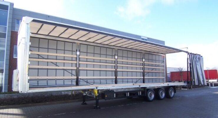 Schmitz Cargobull bietet 13 Meter Durchladebreite