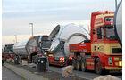 Schwertransporte Begleitung, Convoi, Exceptionnel, Volvo