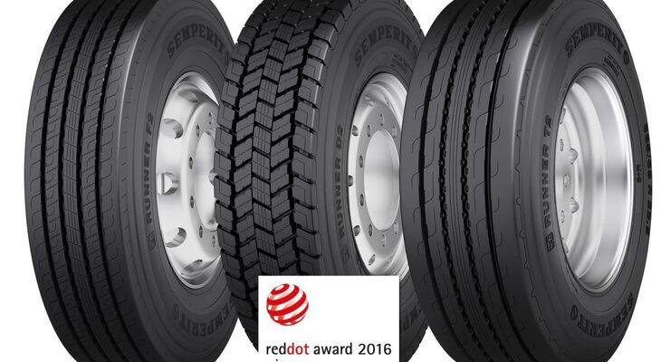 Semperit Reifen in der Dimension 315/70R22,5