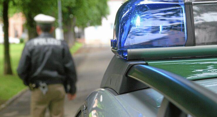 Sirene, Polizei, Blaulicht