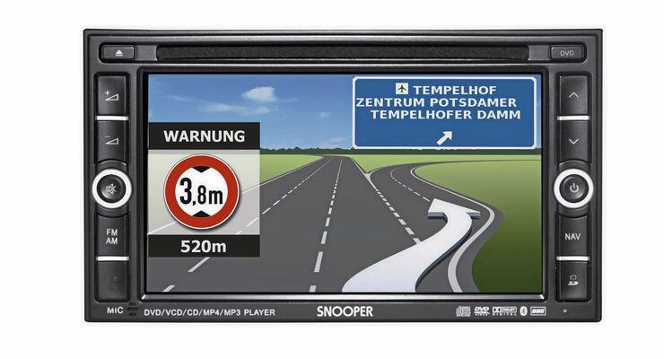 Snooper Einbau-Navi Truckmate Pro AVNS9020