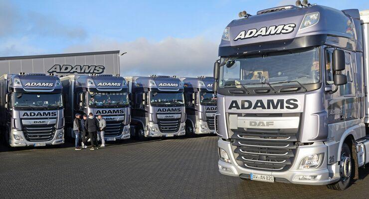 Spedition Adams Transporte, Spediporträt FF 3/2020.