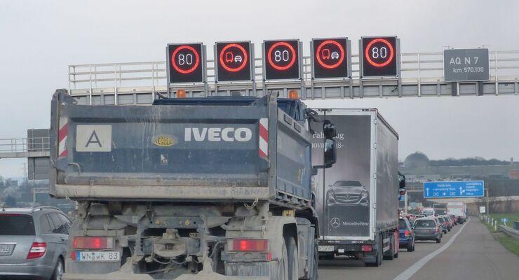 Streckenverkehrsbeeinflussungsanlage, Verkehrsleitsystem, Autobah, A 81