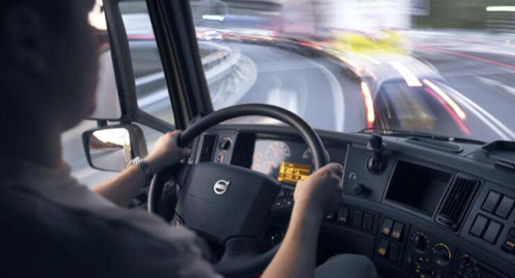 Studie zur Fahrerbelastung