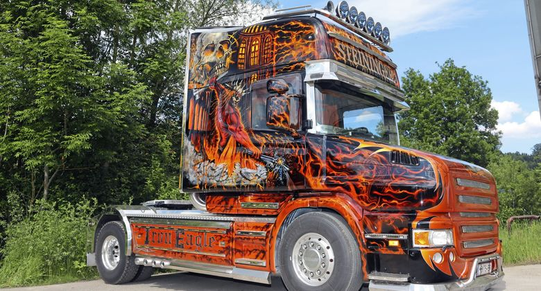 Supertruck Steininger Scania Hauber Teufel