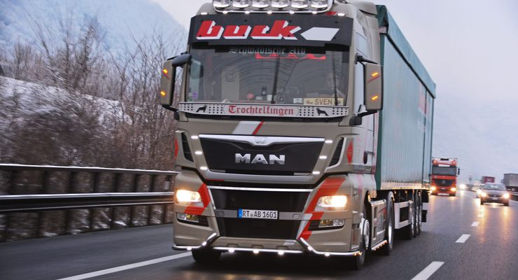 Sven Acker, Buck Transporte aus Trochtelfingen, Profi im Profil, FF 5/2018.