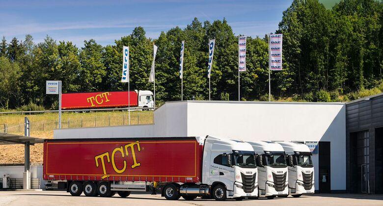 TCT setzt auf LNG-Lkw von Iveco