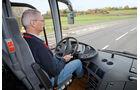 Test, MAN, Lion's Regio C, Linienbus, Überlandbus, Reisebus, Cockpit, Fahrersitz, Busfahrer, Lenkrad, Amaturenbrett